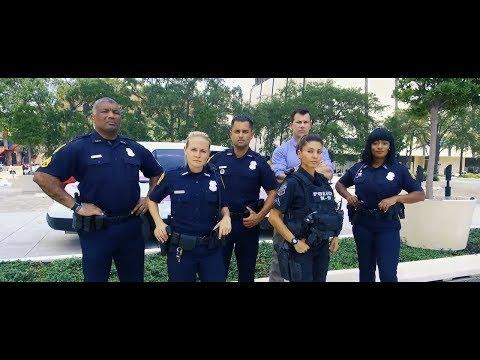 Tampa Police Department Selfie