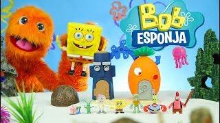 play doh plancton bob esponja squarepants imaginext juego juguetes super unboxing para niños