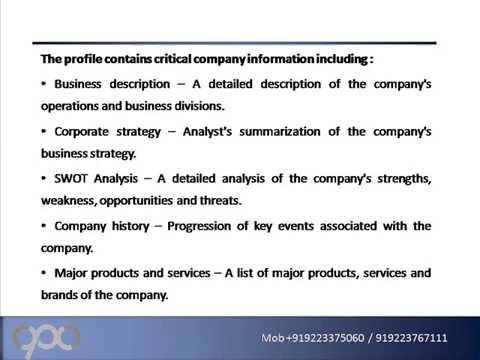 Lloyds Pharmacy Limited Strategic SWOT Analysis Review - YouTube - business swot analysis