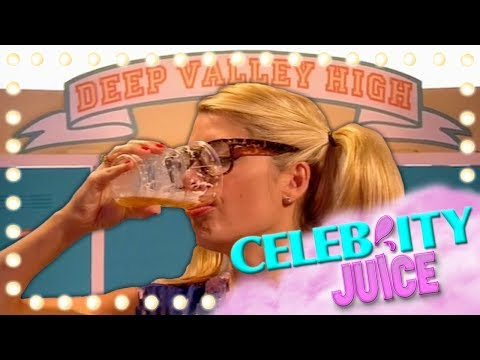 Deep Valley High Has Holly Willoughby Drinking Pints! | Celebrity Juice | Series 10