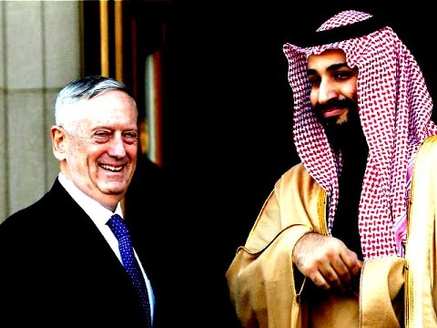 "James Mattis Praises Saudi Arabia for ""Anti-Terrorism"""