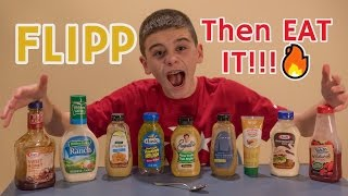 Flip it or Eat it Challenge!!😀😀🍼🍼🔥
