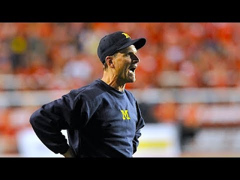 """""""He's A Little Nervous"""" - John Harbaugh On Jim's During OSU/Michigan Week 