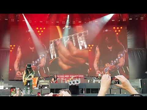 Guns n' roses Odense 2018 Slash solo