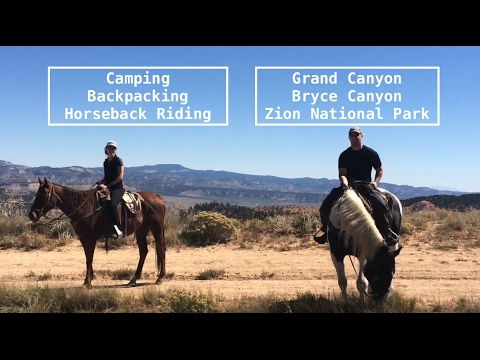 CAMPING & Backpacking Trip 2015: Grand Canyon, Bryce, Zion & Valley of Fire- PWfin
