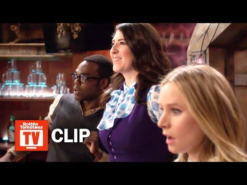 The Good Place S03E08 Clip | 'Janet Kicks Some Demon Butt' | Rotten Tomatoes TV