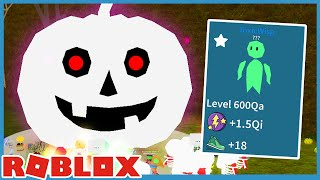 Halloween Update! Summing Giant Pumpkin & Godly Pets! - Roblox Unboxing Simulator