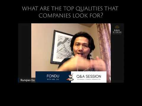 TOP QUALITIES THAT COMPANIES LOOK FOR?