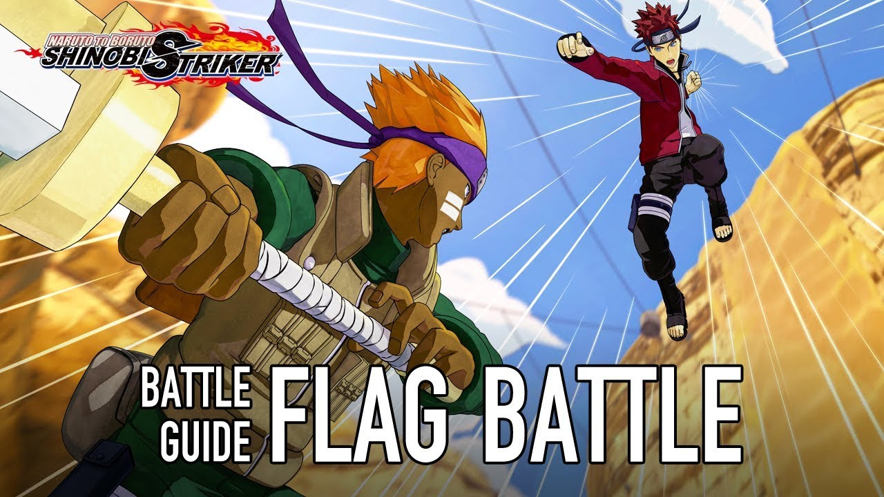 Naruto to Boruto: Shinobi Striker - PS4/XB1/PC - Flag Battle