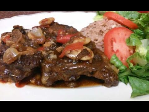 #jamaicanoxtail #butterbeans HOW TO COOK JAMAICAN STYLE OXTAIL RECIPE VOLUME (2) 2015