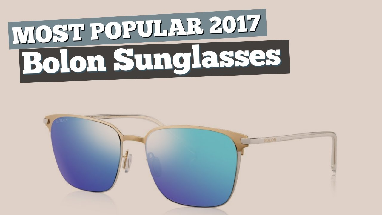 2b0495a21ed Bolon Sunglasses Collection    Most Popular 2017 - YouTube