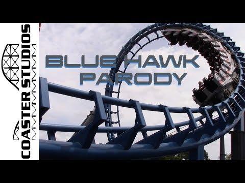 Coaster Parody: Blue Hawk at Six Flags Over Georgia
