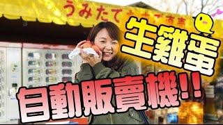 尋找生鷄蛋的自動販賣機  |Japanese Vending Machine Egg