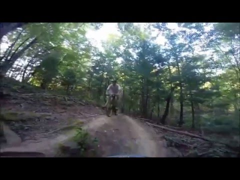 Mountain Biking at Alum Creek Phase 2