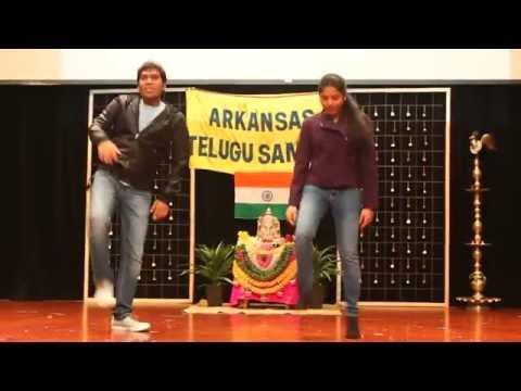 duet dance performance telugu