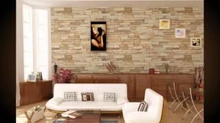 Облицовка стен декоративным камнем. Отделка стен декоративным камнем Примеры.