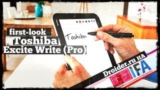 видео Обзор планшета Toshiba Excite Pro