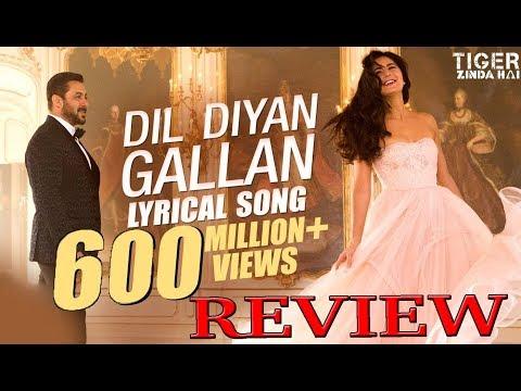 dil-diyan-gallan-song-blockbuster- -review- -salman-khan- -katrina-kaif- -ali-abbas-jafar