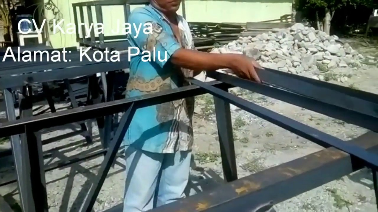 Cara Membuat Tower Air Cv Karya Jaya Youtube