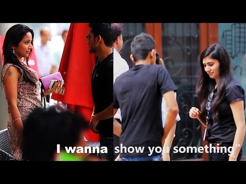 I Wanna Show You Something..| DICK magic prank in INDIA by AVRprankTV