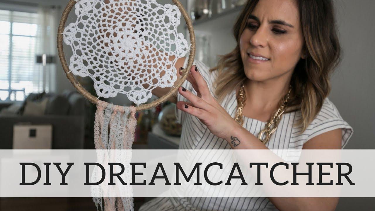 How to make a dreamcatcher youtube for How do u make a dreamcatcher