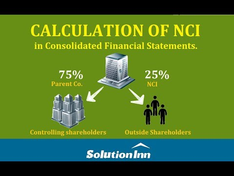Non controlling interest calculation   Accounting   Solutioninn.com