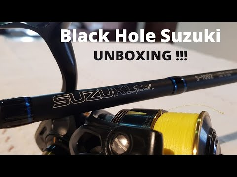 UNBOXING: Black Hole Suzuki Special 10ft Surf Rod