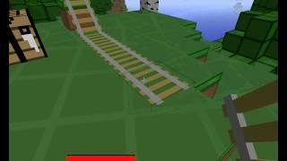 Minecraft - Aflevering 1 - het maken van een achtbaan