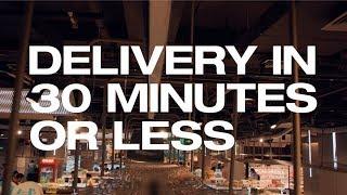 Is dit de snelste e-commerce levering in de wereld?