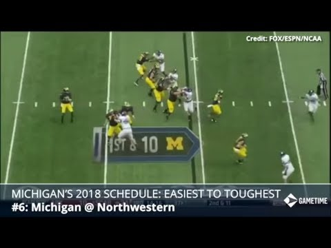 2018 Michigan Football Schedule: Ranking Each Game Easiest To Hardest In Year 4 For Jim Harbaugh