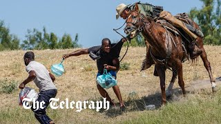 video: Dispatch: Hope and despair for Haitians on the US border as only a lucky few get through