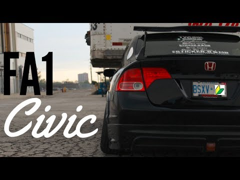8th Gen Honda Civic Review Stanced Fa1 Youtube