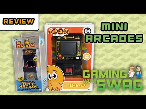 Arcade Classics And Tiny Arcade Unboxing And Review Gaming With Swag