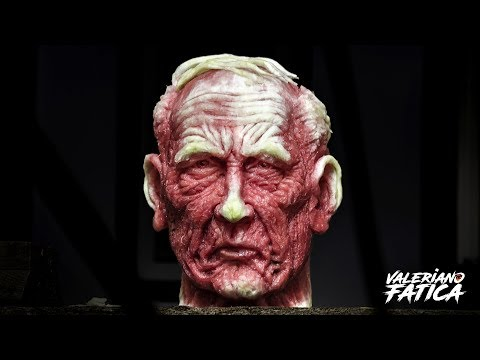 Old Man - Best Watermelon Carving