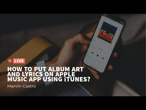 How to put Album art and Lyrics on Apple music app using Itunes Mp3