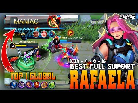 New Meta - Rafaela Top 1 Global   Best Build Rafaela Mobile Legend
