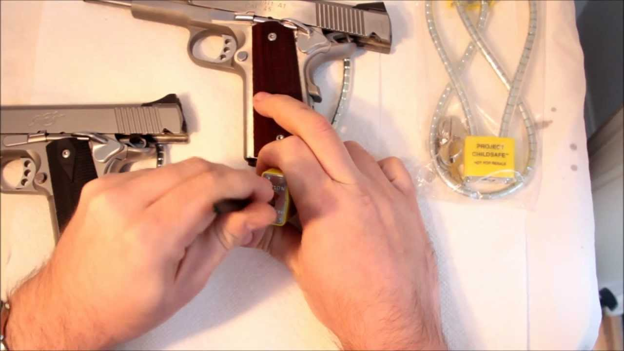 Project home safe gun lock