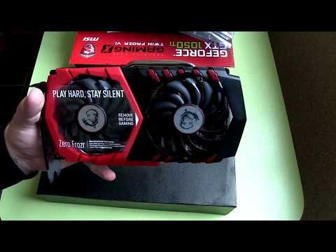 MSI PCI-Ex GeForce GTX 1050 Ti GAMING X 4GB GDDR5 (128bit) (1354/7008) (DVI, HDMI, DisplayPort) (GTX 1050 TI GAMING X 4G)