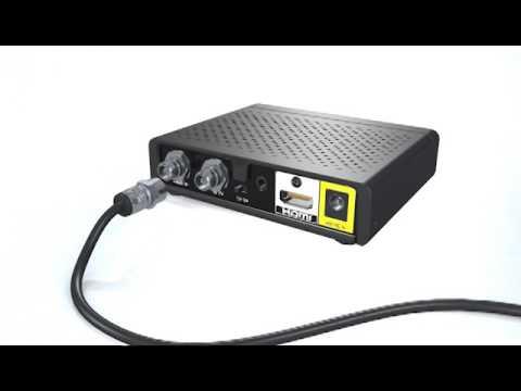 How To Set Up a HD DTA (digital) Box.