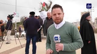 ردا على صفقة القرن ..حملة لإزالة آثار المؤسسات الأمريكية في رام الله - (4/2/2020)