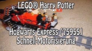 Motorisiert: LEGO 75955 - Hogwarts Express 2018 (Harry Potter Set mit Powered Up)