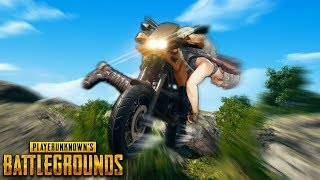 WEIRD Motorcycle Bug.. | Best PUBG Moments and Funny Highlights - Ep.165