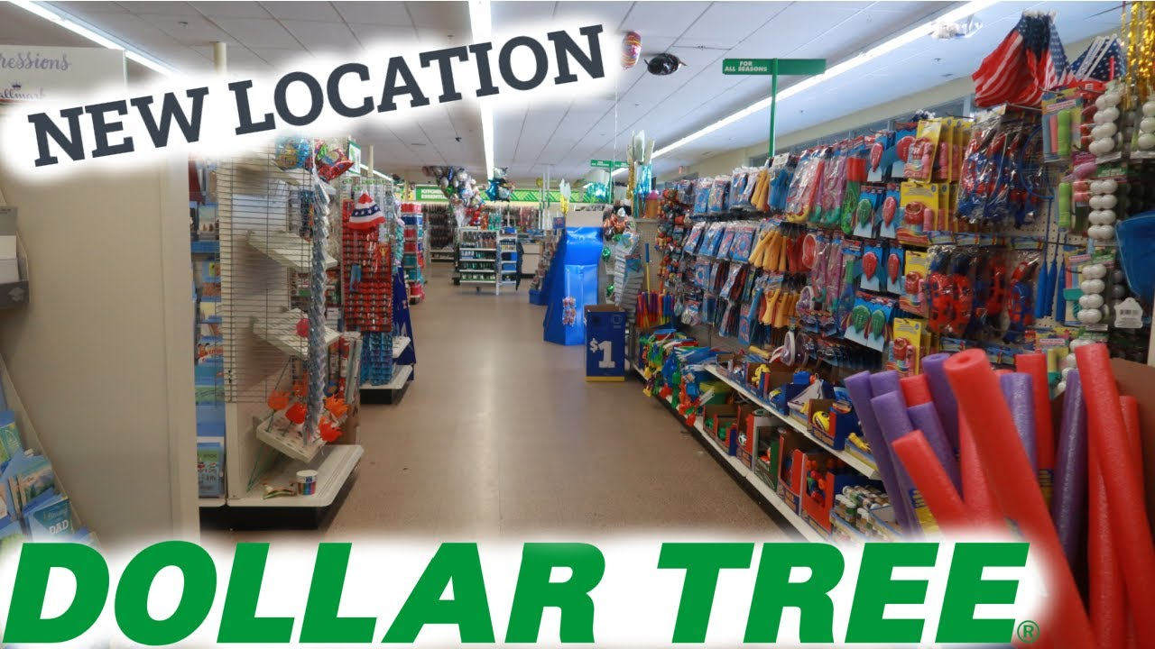 DOLLAR TREE * NEW LOCATION!!! BROWSE WITH ME