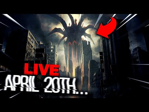 LIVE Count down to April 20th Alien Invasion..