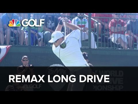 RE/MAX World Long Drive Championship | Golf Channel