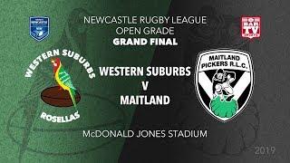 2019 Newcastle RL Open Grade Grand Final - Western Suburbs Rosellas v Maitland Pickers