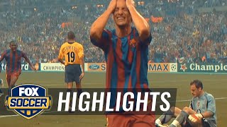 Barcelona vs. Arsenal | 2006 UCL Final | FOX SOCCER