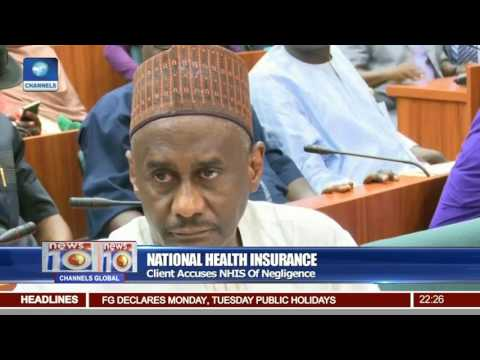 News@10: Client Accuses NHIS Of Negligence 23/06/17 Pt 2