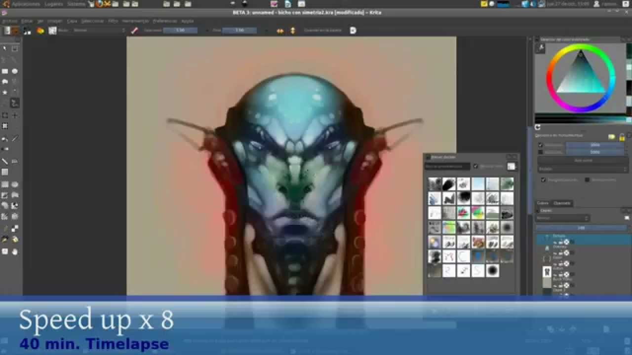 how to add images in krita