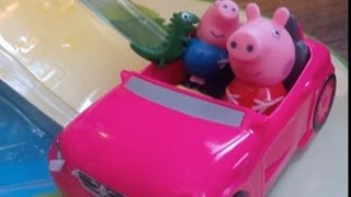 New Episodes Peppa Pig and George Slow motion animation